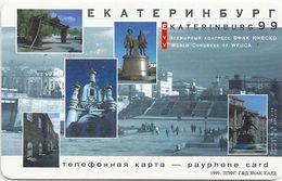 Russia - EMTS Ekaterinburg - Unesco Congress - Exp. 30.04.2000, 100U, 10.000ex, Used - Rusia