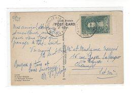 CACHET  Paquebot Marseille à La Réunion N° 5   3.8.38  Tp Jean De La Fontaine 55 C - Postmark Collection (Covers)