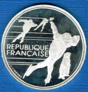 PIECE 100 FR JO 92 ALBERTVILLE 1990 - France