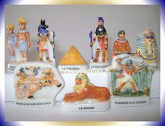 Deviens Pharaon Au Pays Des Pyramides .. Série Complète ... Ref AFF : 94-1999 ..(Pan 004) - Countries