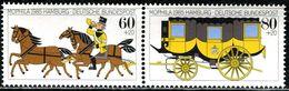 BRD - Michel 1255 / 1256 = WZd 5 - ** Postfrisch (C) - 60+20-80+20Pf  Briefmarkenausstellung MOPHILA 85 - [7] West-Duitsland