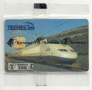 Spain - Telefónica - Alta Velocidad Train - P-268 - 05.1997, 5.000ex, NSB - Spain