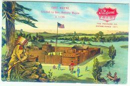 Fort Wayne In 1794 - Indianer