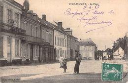 C P A  80] Somme > Vignacourt La Place - Vignacourt