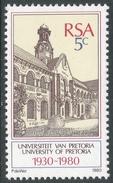 South Africa. 1980 50th Anniv Of University Of Pretoria. 5c MNH SG 480 - South Africa (1961-...)