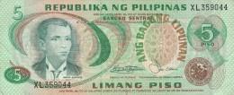 FILIPPINE 5 PISO -VF (26A - Philippinen (1904-1944)