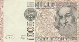 ITALIA LIRE 1000  MARCO POLO - VF (27A - [ 2] 1946-… : République