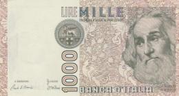 ITALIA LIRE 1000  MARCO POLO - VF (33A - [ 2] 1946-… : Républic