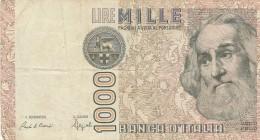 ITALIA LIRE 1000  MARCO POLO - VF (34A - [ 2] 1946-… : République