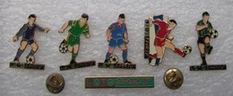 FRANCAISE DES JEUX LOTO SPORTIF 6 PIN'S DIFFERENTS FOOTBALLEURS         CCCC    99 - Games