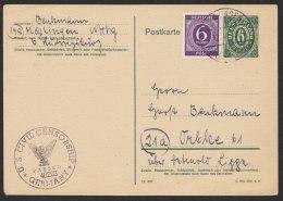 """Bedarf Mit Zusatzfr. """"Möglingen"""", 12.10.46, US Zensur, Mi-Nr. P901 B, O - Bizone"""