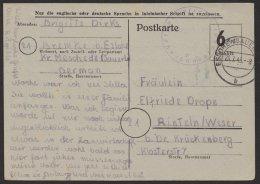 """Bedarfskarte """"Eslohe"""", 20.7.45, Mi-Nr.P675, O - Bizone"""