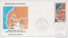 Enveloppe  FDC  1er  Jour   SENEGAL   Explorateur   Léopold   PANET   1969 - Sénégal (1960-...)