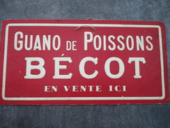 Guano De Poissons BECOT - Paperboard Signs