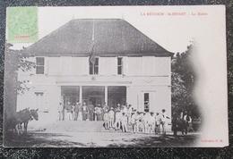 Reunion Ile St Benoit Mairie  Cpa Timbré - Saint Benoît