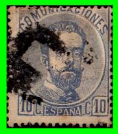 ESPAÑA SELLO DEL REINADO DE  AMADEO I   AÑO  1872 -  10  Ctms - 1872-73 Reino: Amadeo I