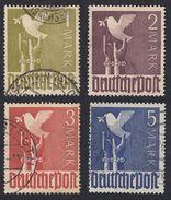 AAS - DEUTSCHLAND - ALLEMAGNE - GERMANIA - 1947 - Lotto 4 Valori Usati Yvert 49/52. - Zona AAS