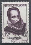 France, Miguel De Cervantes, Spanish Writer, 1957, VFU - Francia