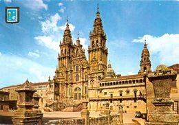 Espagne - Galicia - Santiago De Compostela - Cathédrale - Façade - Dominguez Nº 2 - 3158 - Santiago De Compostela