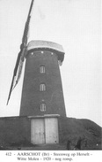 Windmolen Aarschot  Steenweg Op Herselt Witte Molen        I 1896 - Moulins à Vent