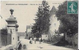 MONTIGNY SUR VINGEANNE Entrée Du Pays - Francia