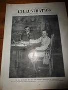1910 L'ILLUSTRATION:Espagne;Wachter Tué-monoplan;Waldeck-Rousseau;Expo Bruxelles;Monoplan Blériot à Saïgon;Toulouse;etc - Zeitungen