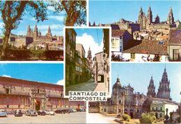 Espagne - Galicia - Santiago De Compostela - Multivues - Campaña Puig Ferrán - Nº S II 50037 - 3163 - Santiago De Compostela