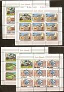 Cook Islands 1974 Yvertnr 394-397 *** MNH Feuille De 8 Séries + Vignette Cote 36 Euro UPU - Cook