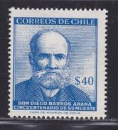 CHILI N°  278 ** MNH Neuf Sans Charnière, TB  (D2320) - Chili