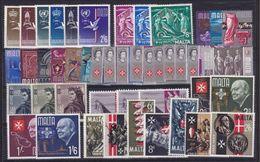 1964 1965 Malta 2 ANNATE  2 YEARS 6 Serie 294/3334 MNH** - Malta