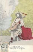 Femme Et Sa Guitare - Série Chant Du Soir - N° 4: Puis Soudain Résonne Sa Fibre, Dans L'air Du Soir... - Vrouwen