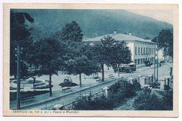 Tarvisio - Piazza E Municipio - Timbro Ambulante Tarvisio-Venezia- Aff. Commemorativa- V. 1934 - Udine