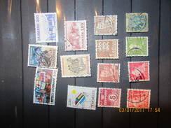 Dänemark  Mix Set Stamps Of Denmark Danemark Danimarca Dinamarca Denemarken Small Selection Of Fine Used 56 - Dänemark
