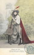 Femme Et Sa Guitare - Série Chant Du Soir - N° 1: C'est La Cigale Et Ses Chansons Qui Vont De Chemins... - Vrouwen