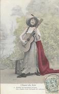 Femme Et Sa Guitare - Série Chant Du Soir - N° 2: Porter La Rutilante Ivresse Des Chants... - Vrouwen