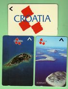 CROATIE *** Lot De 3 Telecartes Differentes *** (A7-P17) - Croatie
