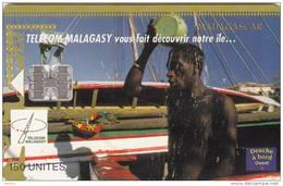 MADAGASCAR - Having A Shower, Tirage 50000, 03/99, Used - Madagascar