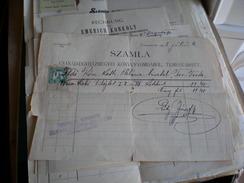 Temesvar 1898 Szamla  Csanda Eghazmegyei Konyvnyomdabol - Other