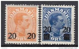 DÄNEMARK  151-152, Postfrisch **, Christian X, 1926 - Ungebraucht