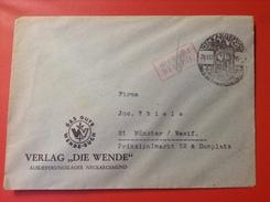 Brief Neckargemünd Verlag Die Wende 1947 Mit Stempel Gebühr Bezahlt Nach Münster - [7] République Fédérale