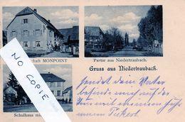 68 Haut-Rhin, Traubach, Niedertraubach, Trois Vues Dont Gastwirtschaft Monpoint - Other Municipalities