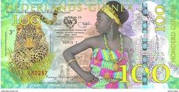 Netherlands Guinea (Ghana) - 100 Gulden 2016 - Unc - Fantasy Banknote - Private Issue - Not A Legal Tender - Billets