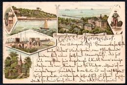 A9437 - Litho Gruß Aus Heringsdorf - Ottmar Zieher - Gel 1898 ?? - Usedom