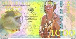 Netherlands Guinea (Ghana) - 1000 Gulden 2016 - Unc - Fantasy Banknote - Private Issue - Not A Legal Tender - Billets