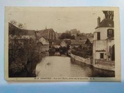 25 B CHARTRES Vue Sur L'Eure, Prise De La Courtille P .A - Chartres
