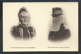 SM Marie-Henriette Reine Des Belges 1836-1902  SM Léopold II Roi Des Belges 1835-1909 - Famous People