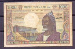 Mali  Ex AOF 1000 Fr - Billets