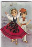 (Alb 1.5) Cartes Postale Habillée Ou Brodée (Possibilité De Joindre Deux Cartes Pour Moins De 20 Gr) - Cartes Postales