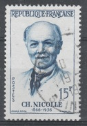 France, Charles Nicolle, French Bacteriologist, 1958, VFU - Francia