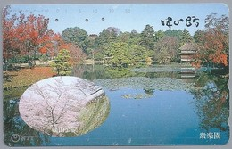 JP.- Japan, Telecarte Japon. NTT. TELEPHONE CARD  - 50-351-198 -. 2 Scans - Japan